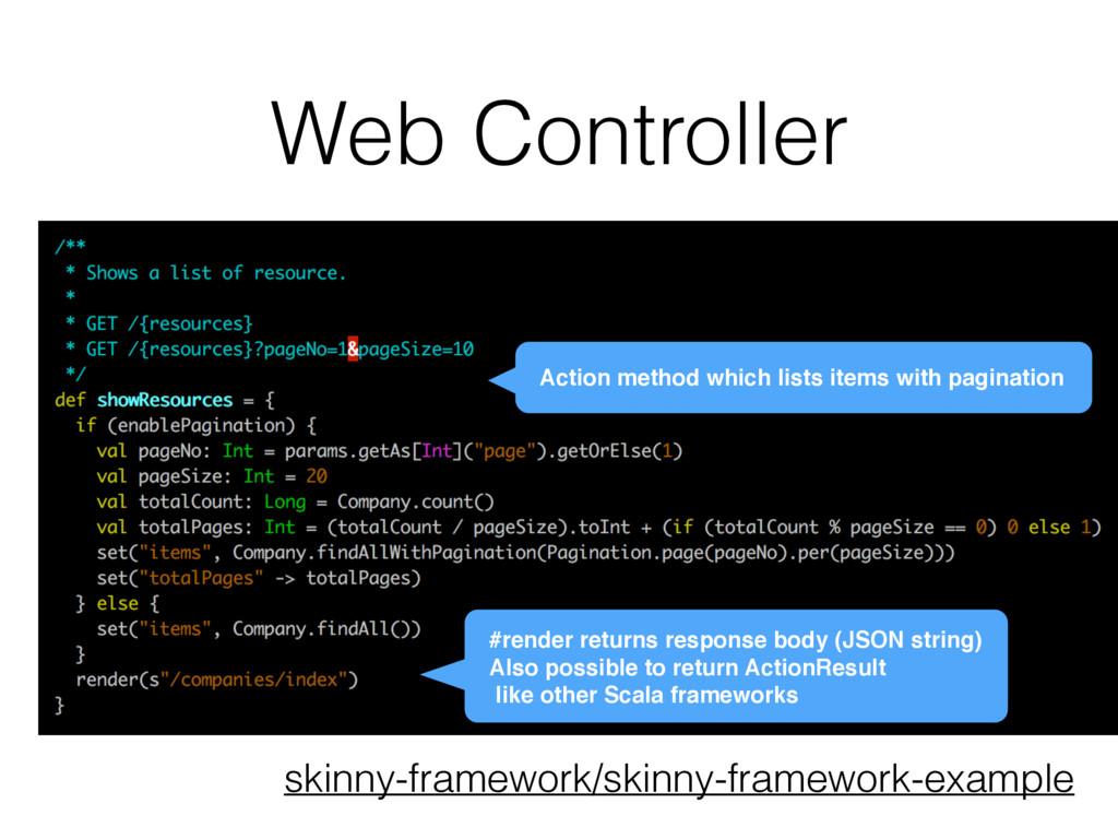 Web Controller skinny-framework/skinny-framewor...
