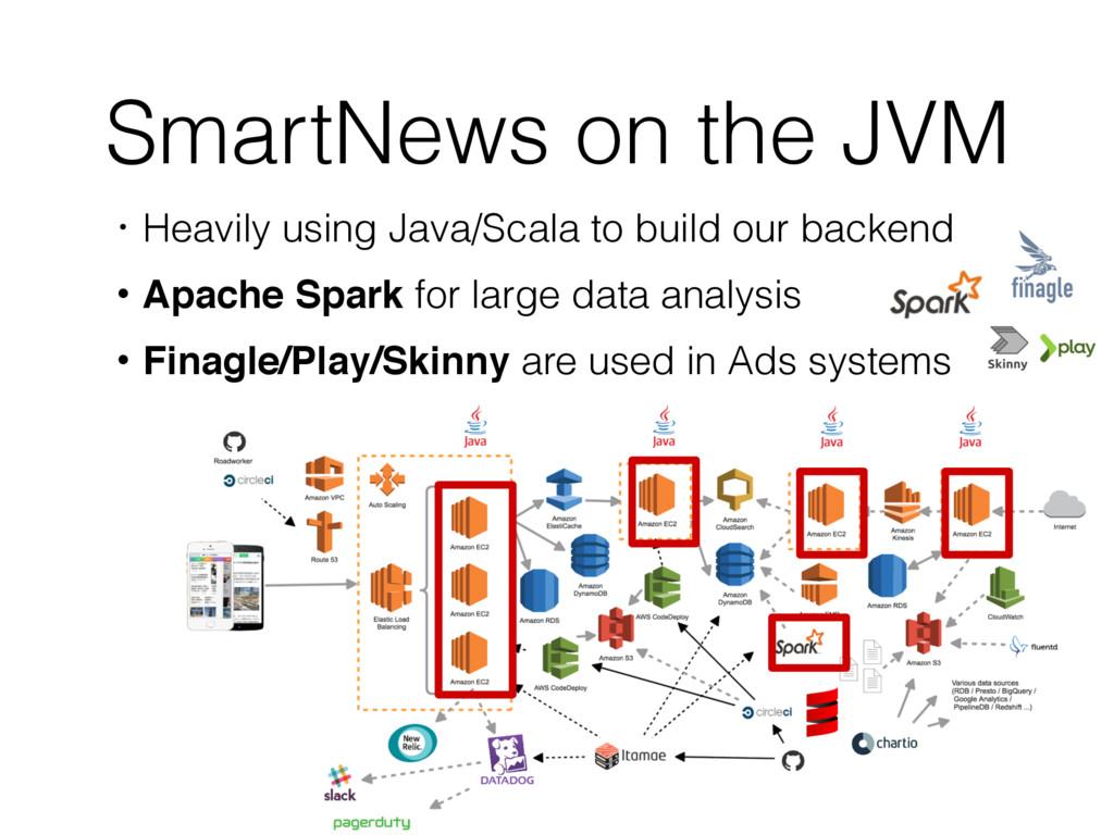 SmartNews on the JVM ɾHeavily using Java/Scala ...