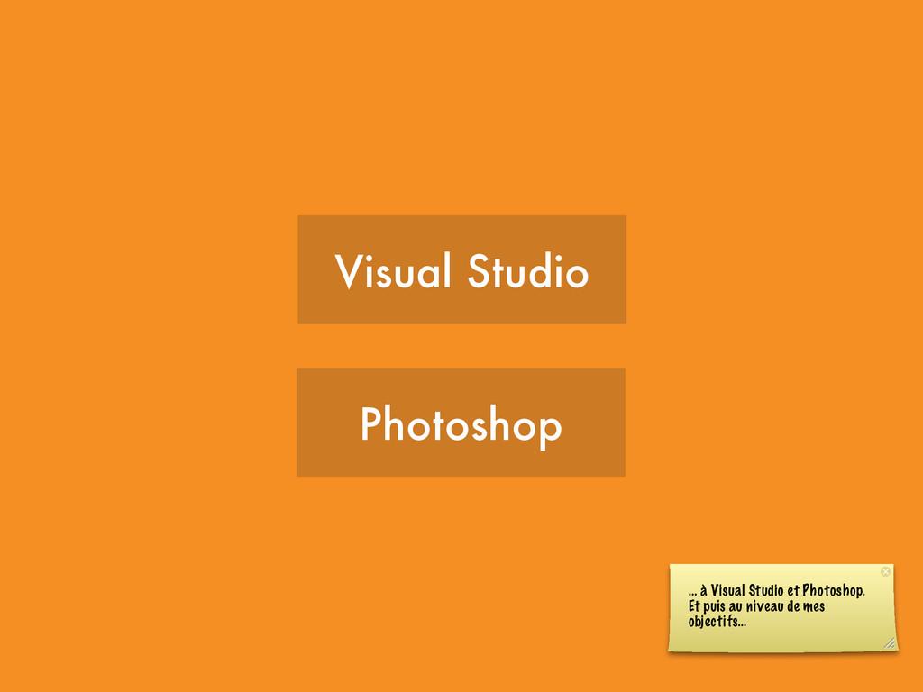 Visual Studio Photoshop … à Visual Studio et Ph...