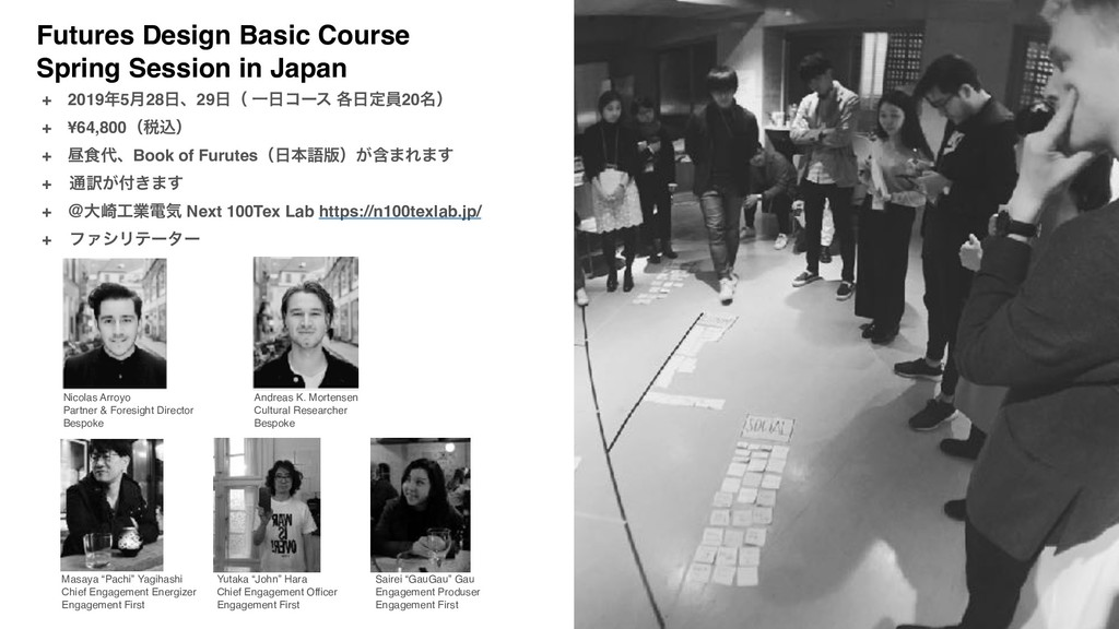 Futures Design Basic Course Spring Session in J...