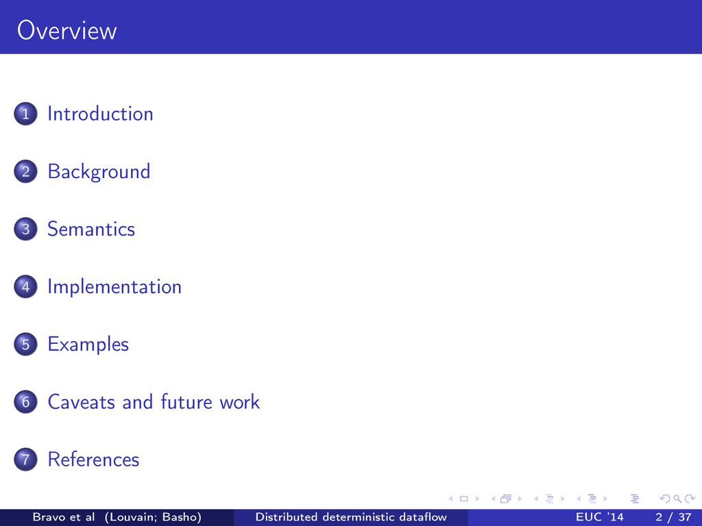 Overview 1 Introduction 2 Background 3 Semantic...