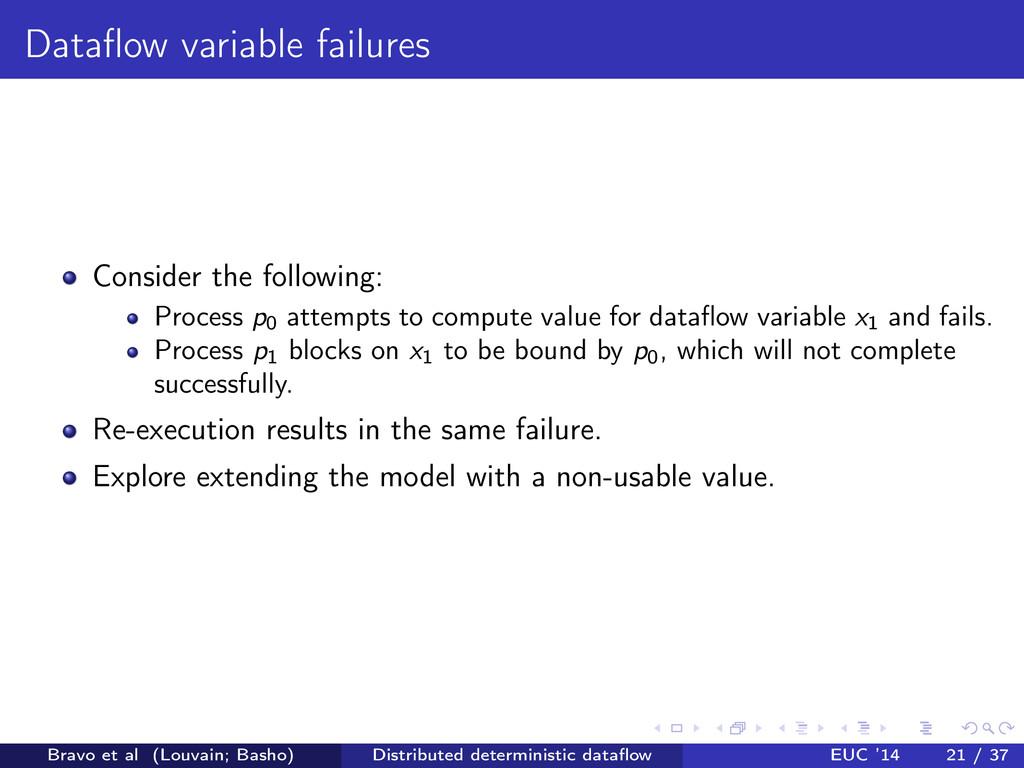 Dataflow variable failures Consider the followin...