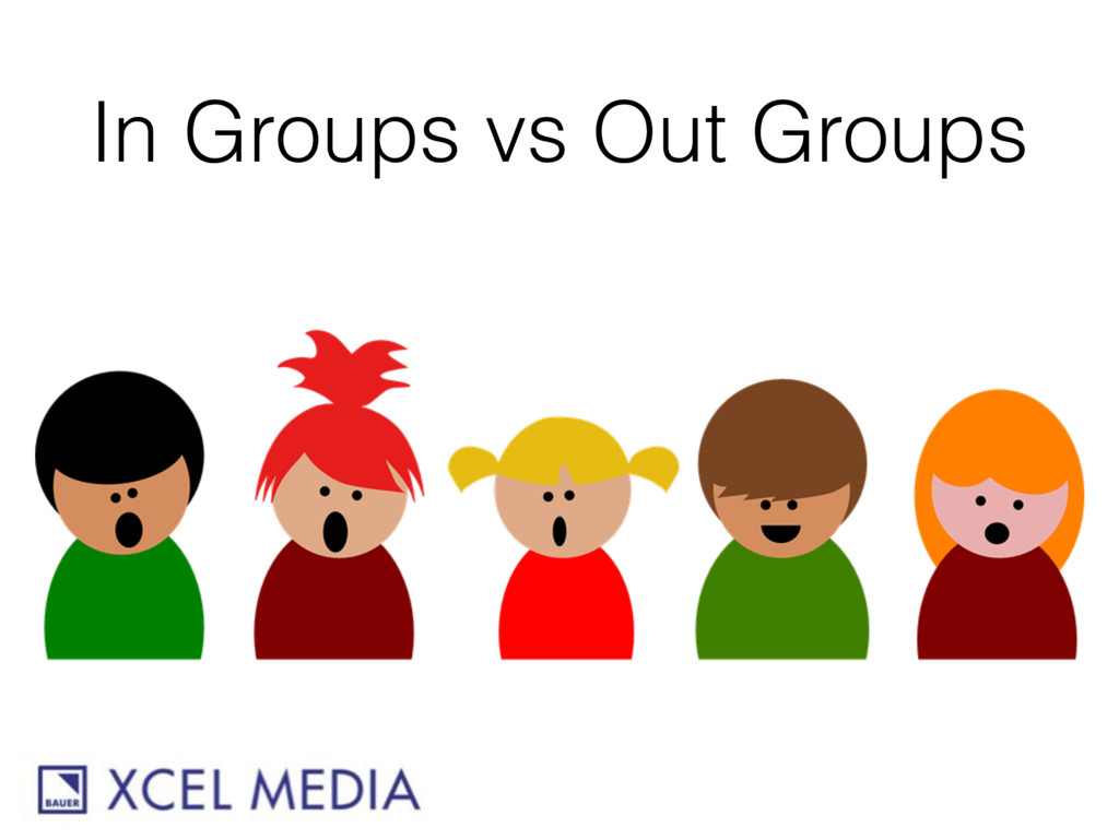 In Groups vs Out Groups