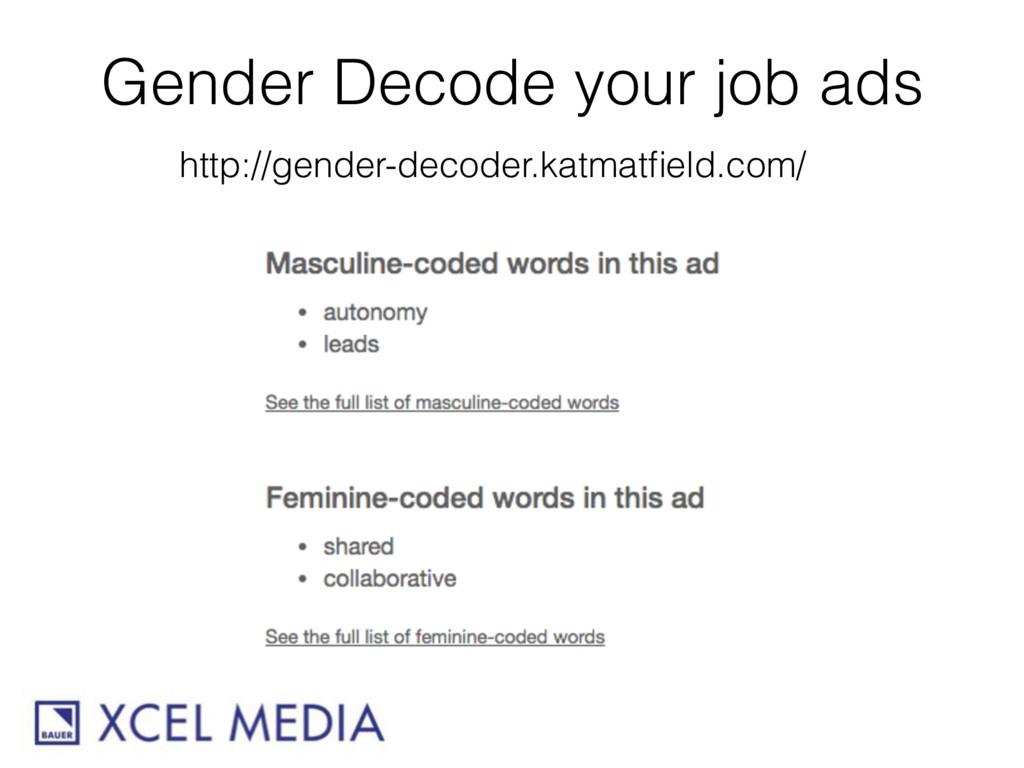 Gender Decode your job ads http://gender-decode...