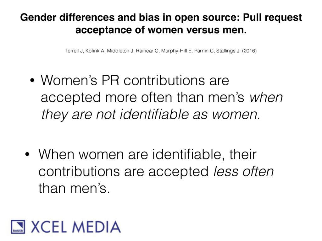 Gender differences and bias in open source: Pul...