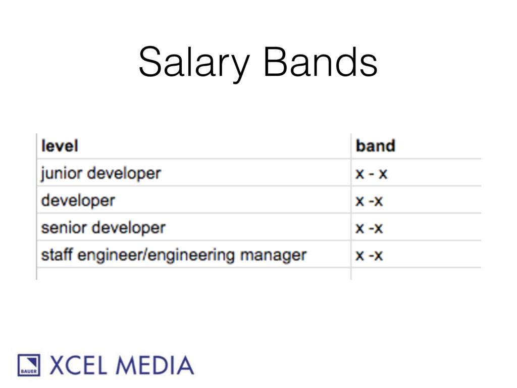 Salary Bands