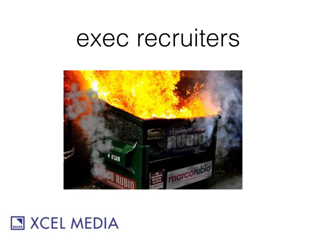 exec recruiters