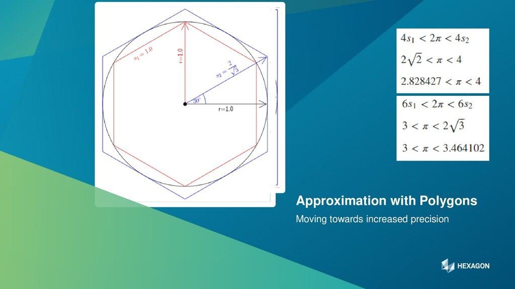 5 Moving towards increased precision Approximat...