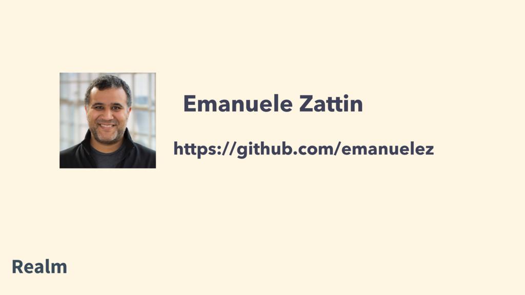 Emanuele Zattin https://github.com/emanuelez Re...
