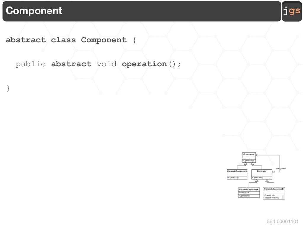 jgs 564 00001101 ConcreteComponent class Concre...