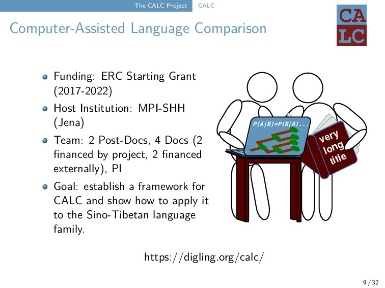 The CALC Project CALC Computer-Assisted Languag...
