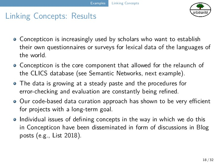 Examples Linking Concepts Linking Concepts: Res...