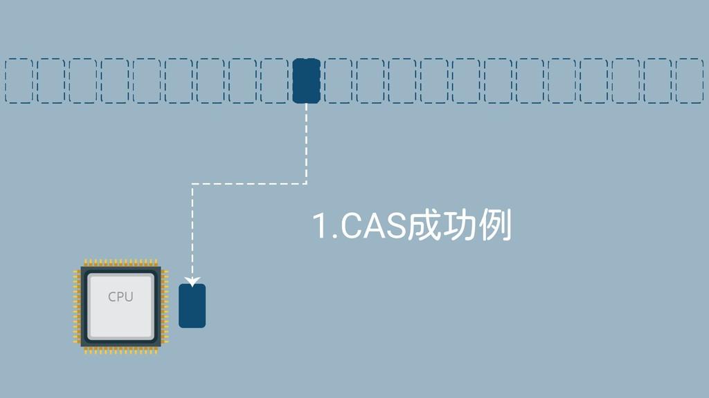 1.CAS成功例
