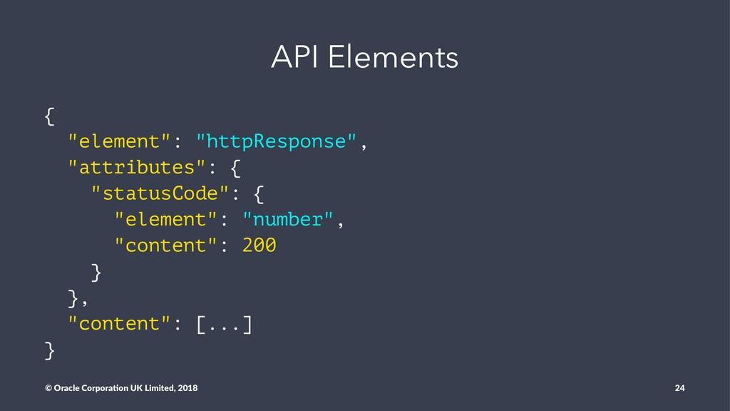 "API Elements { ""element"": ""httpResponse"", ""attr..."