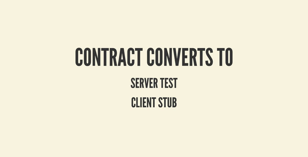 CONTRACT CONVERTS TO CONTRACT CONVERTS TO SERVE...