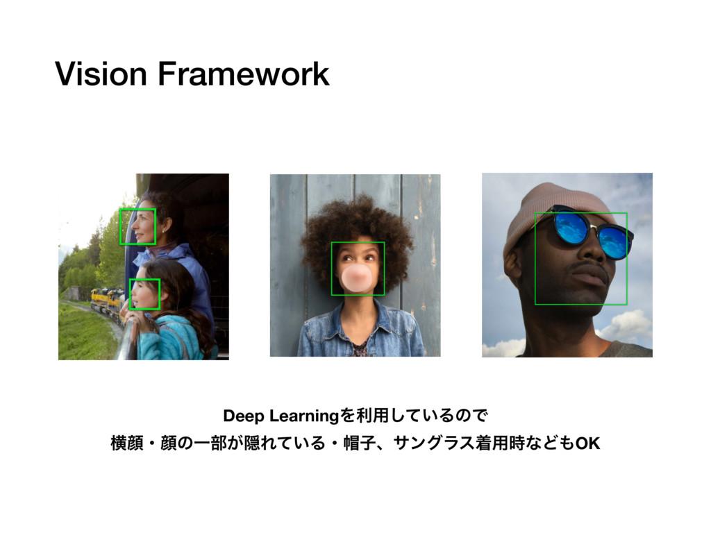 Vision Framework Deep LearningΛར༻͍ͯ͠ΔͷͰ ԣإɾإͷҰ෦...