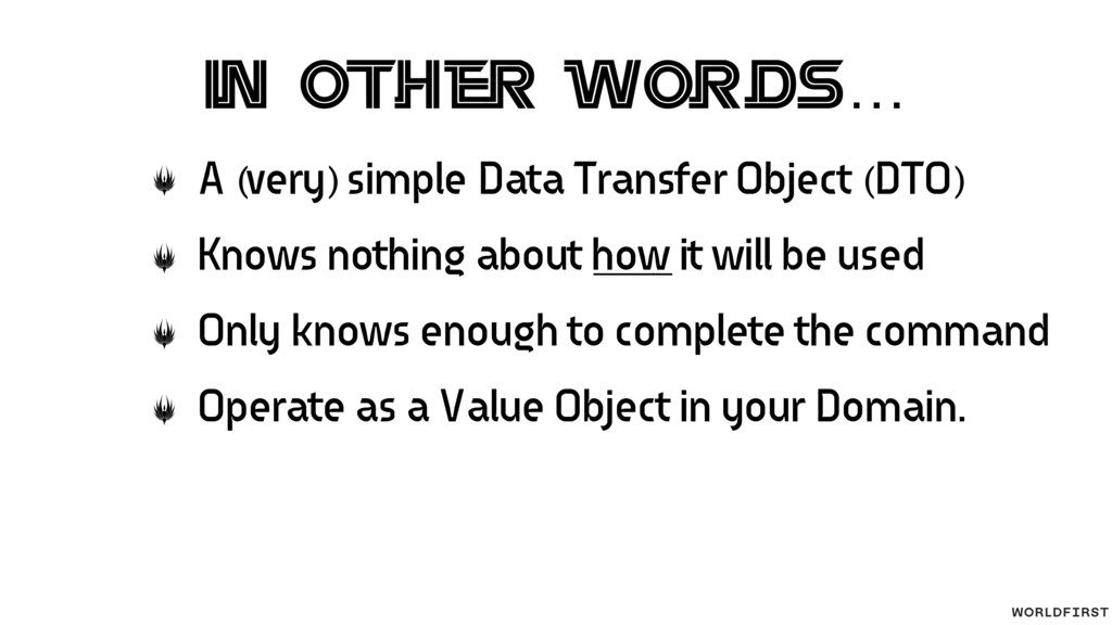 In other words… A (very) simple Data Transfer O...