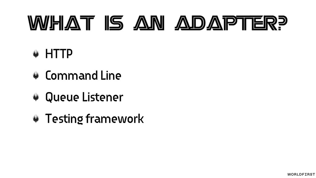 What is an adapter? HTTP Command Line Queue Lis...
