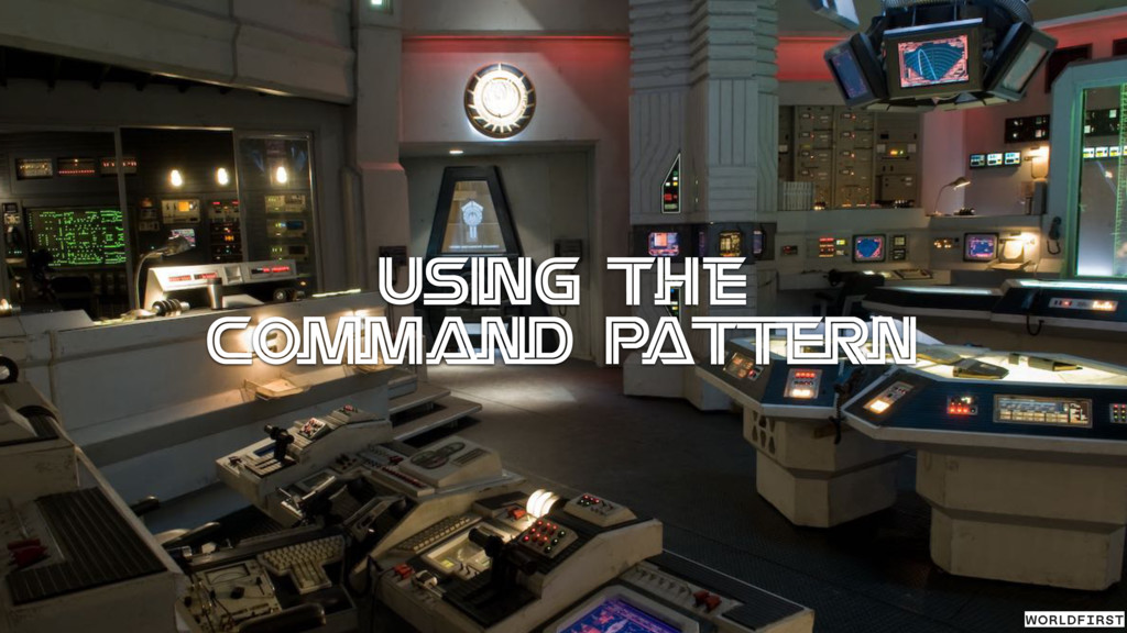 Using the Command Pattern
