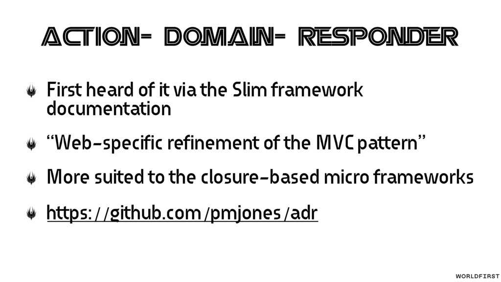 Action-Domain-Responder First heard of it via t...