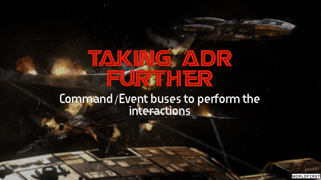 T aking ADR Further Command/Event buses to perf...