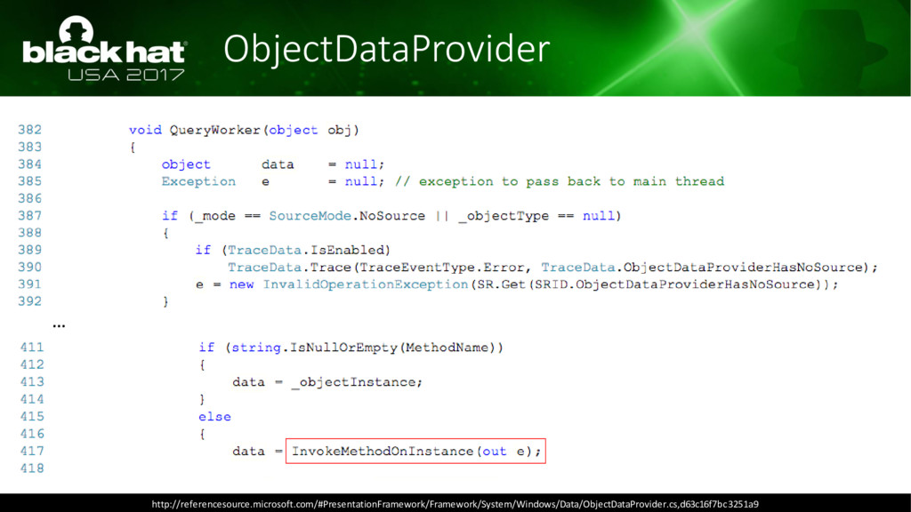 ObjectDataProvider … http://referencesource.mic...