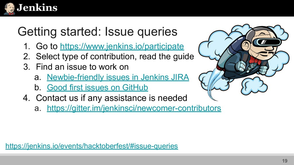 Getting started: Issue queries 1. Go to https:/...