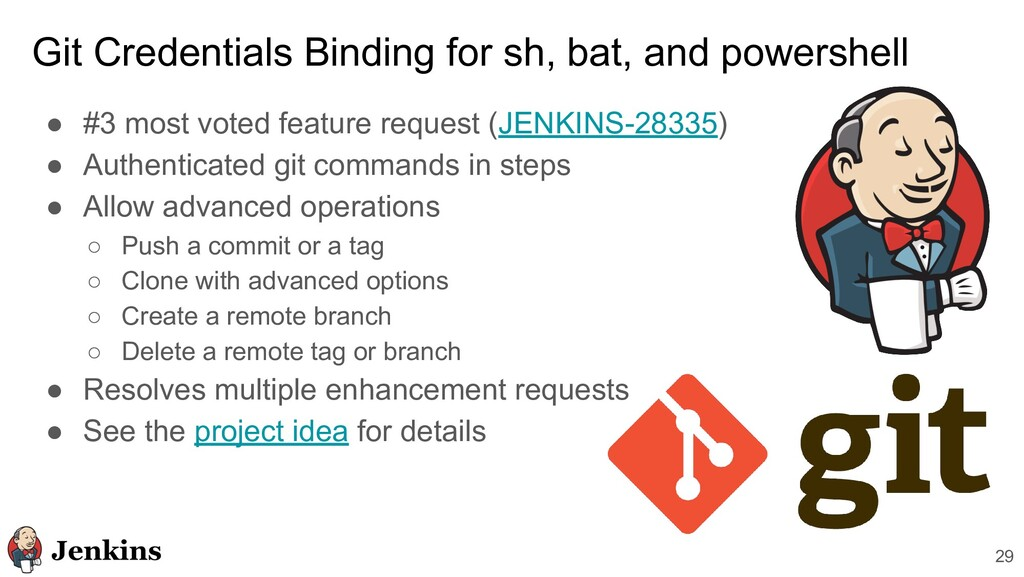 Git Credentials Binding for sh, bat, and powers...