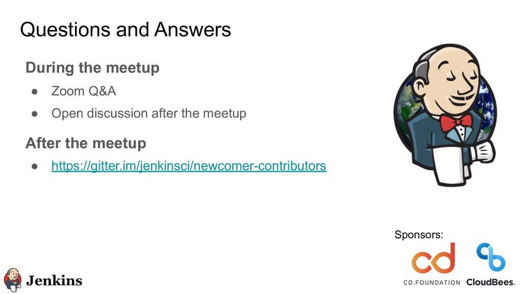 Questions and Answers During the meetup ● Zoom ...