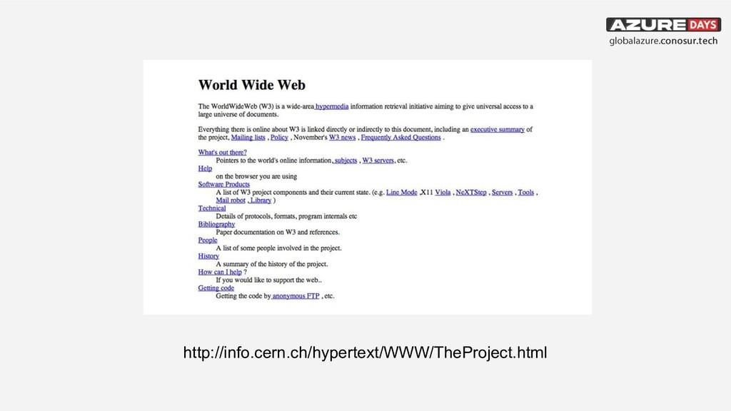 http://info.cern.ch/hypertext/WWW/TheProject.ht...