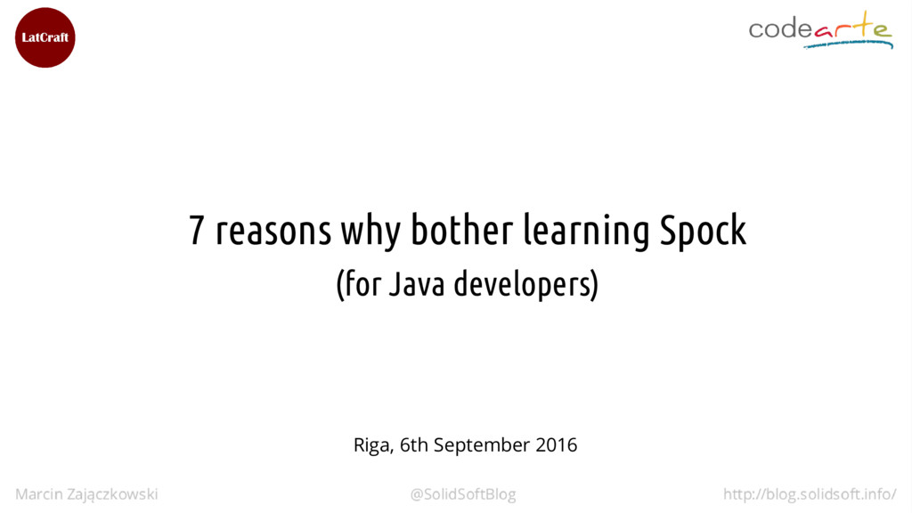 7 reasons why bother learning Spock (for Java d...