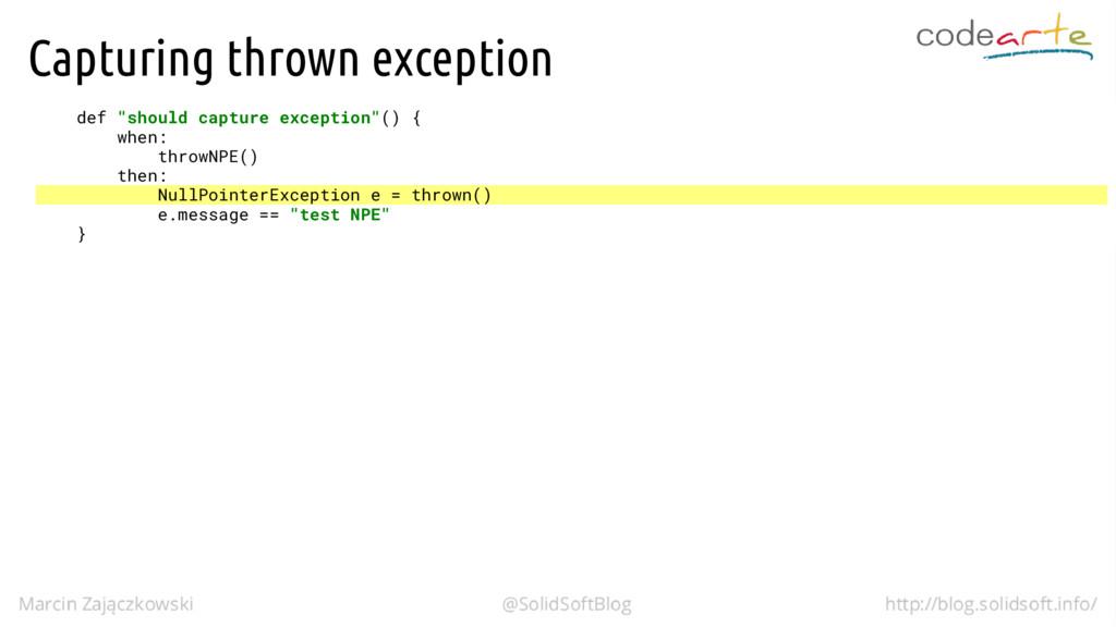 "Capturing thrown exception def ""should capture ..."
