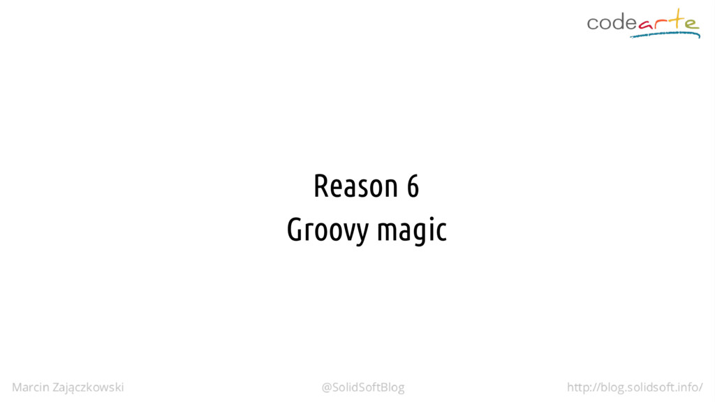 Reason 6 Groovy magic