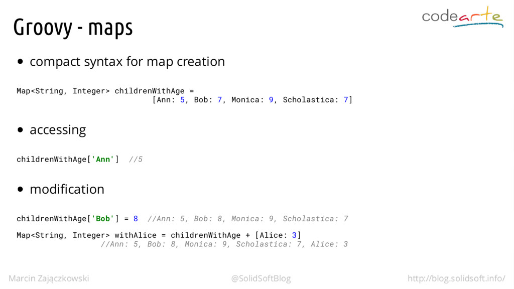 Groovy - maps compact syntax for map creation M...