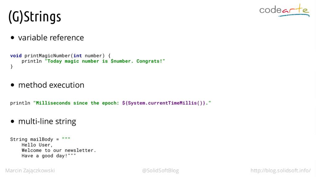(G)Strings variable reference void printMagicNu...