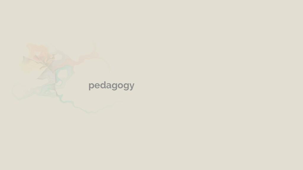 pedagogy