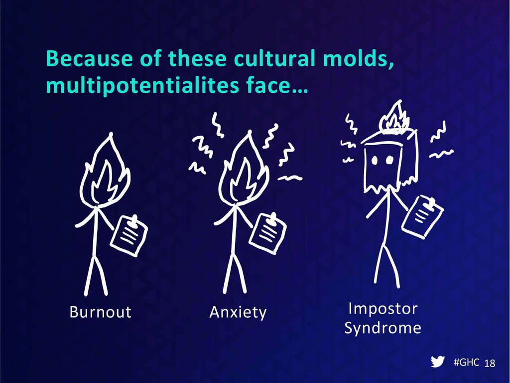 Because of these cultural molds, multipotential...