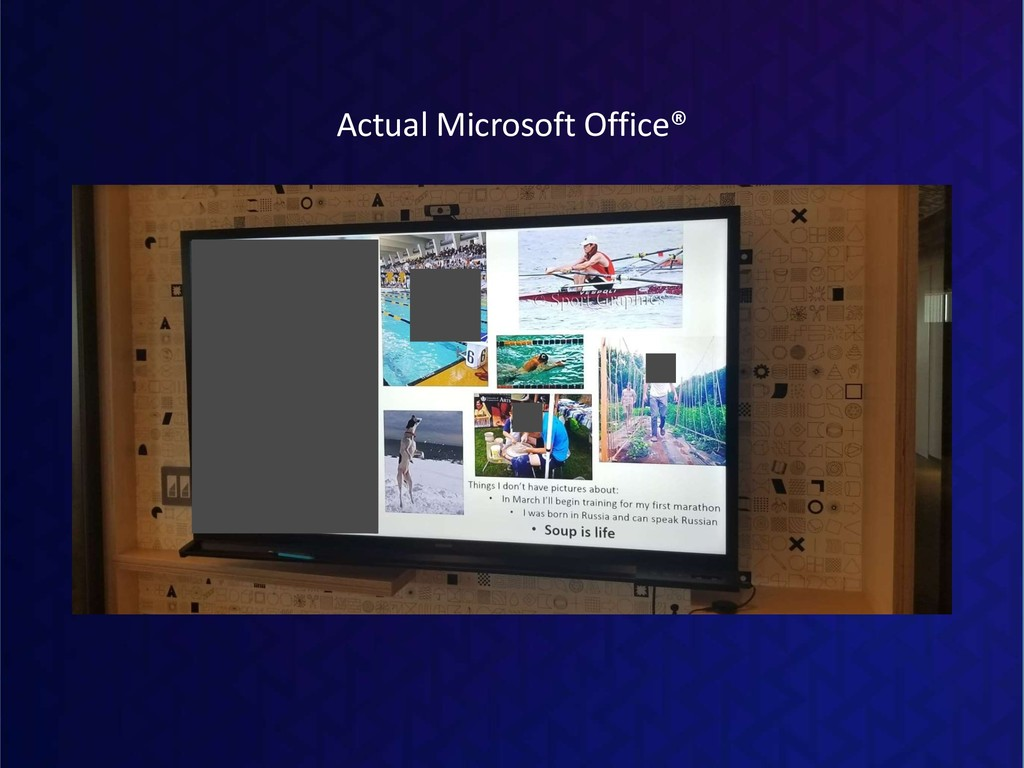 Actual Microsoft Office®
