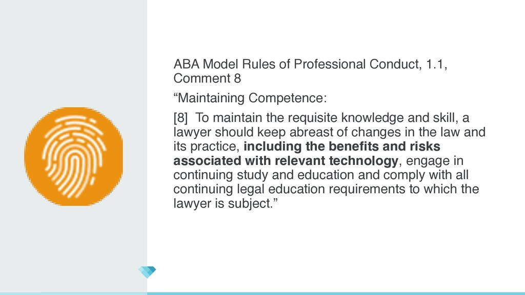 ABA Model Rules of Professional Conduct, 1.1, C...