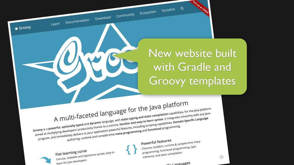 New website built with Gradle and Groovy templa...