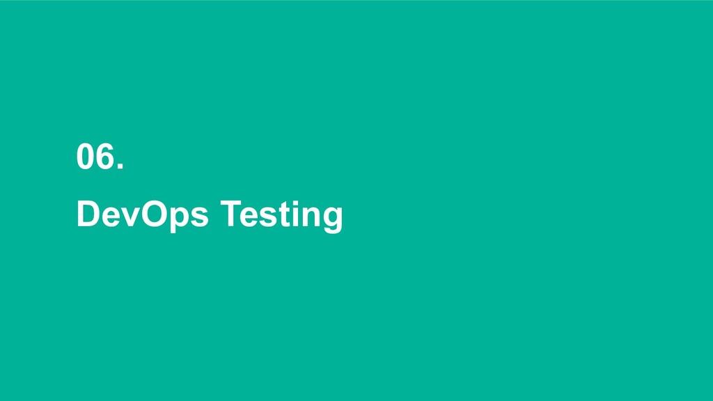 06. DevOps Testing