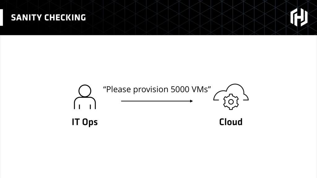 "SANITY CHECKING IT Ops Cloud ""Please provision ..."