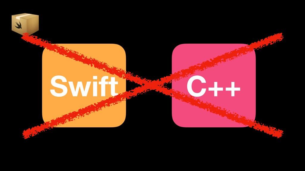 Swift C++