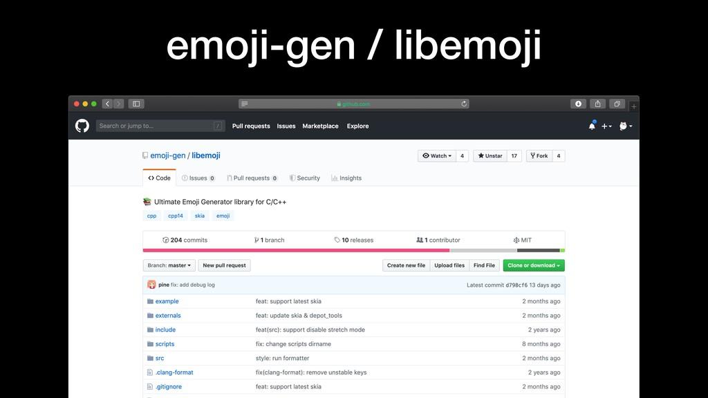 emoji-gen / libemoji