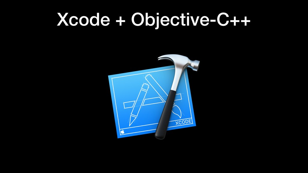 Xcode + Objective-C++