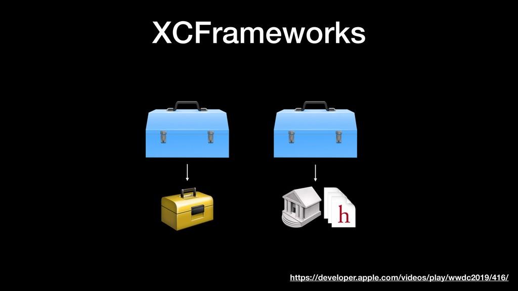 XCFrameworks https://developer.apple.com/videos...