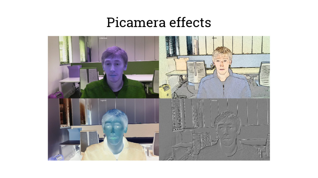 Picamera effects