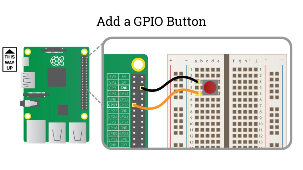 Add a GPIO Button