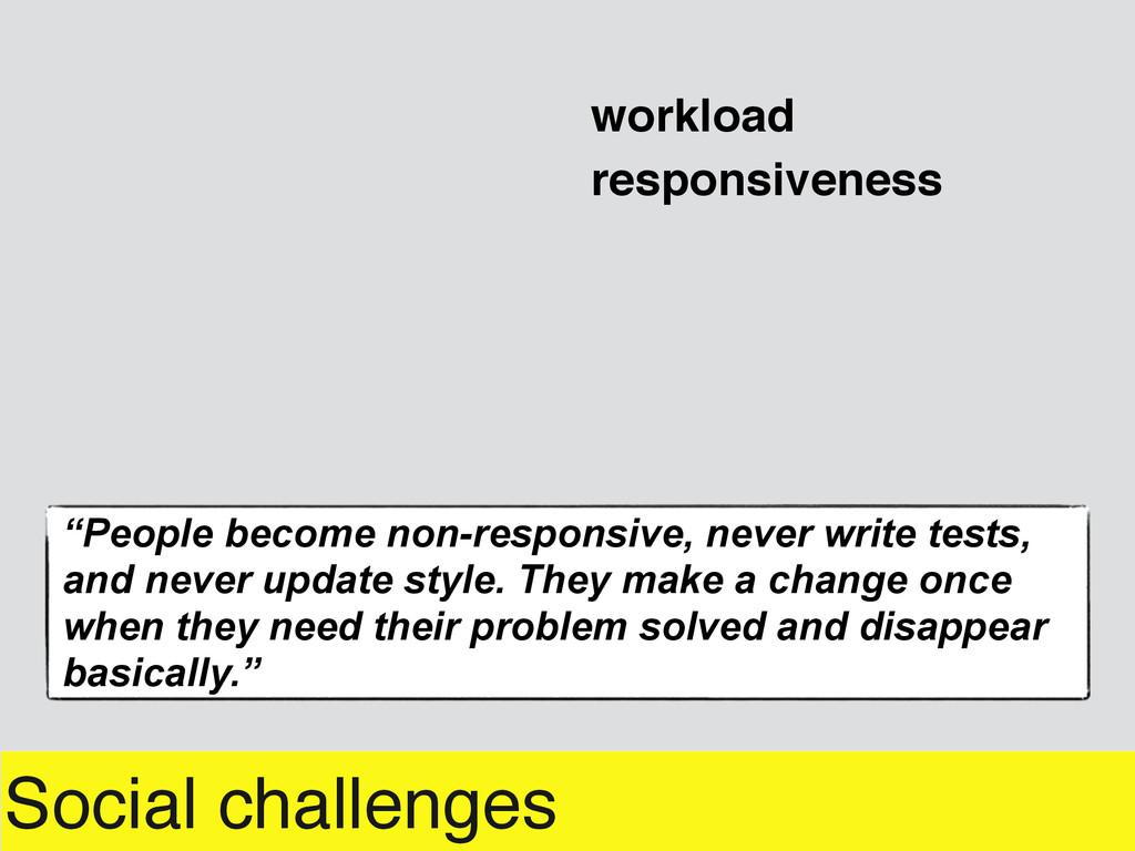 """Social challenges workload responsiveness """"Peop..."""