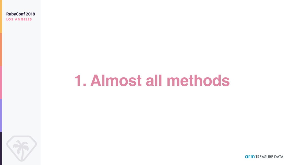 1. Almost all methods